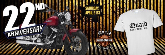 Quaid Harley-Davidson® - Loma Linda, CA 92354