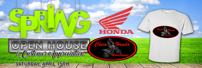 chico honda motorsports - chico, ca 95928-9592