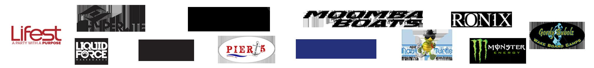 Wakeboard Tournament Sponsors